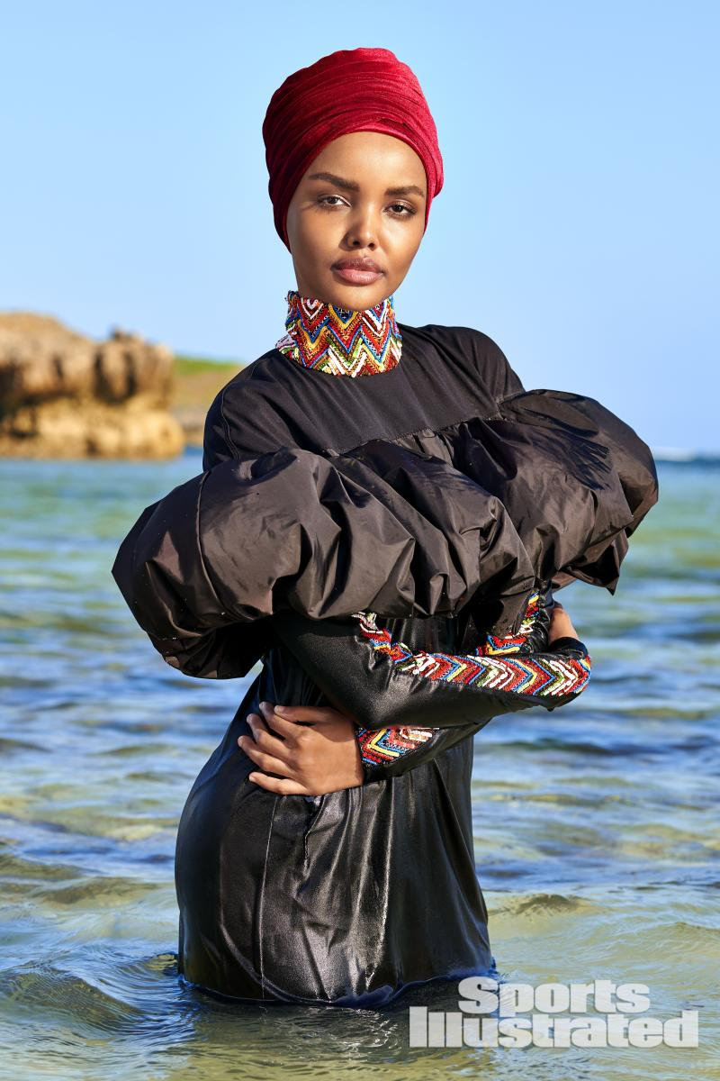 c2576a3d60cbe SI Swim Model Halima Aden Says Anyone Can Wear a Burkini