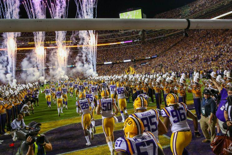 Illegal procedure: Man caught with prostitute inside LSU's Tiger Stadium