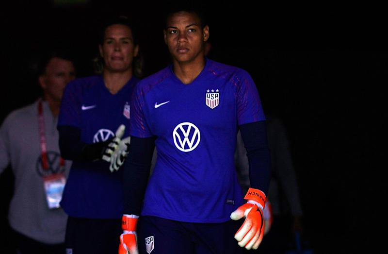 Adrianna Franch has a valuable role to play for the United States women's national team. (Getty)