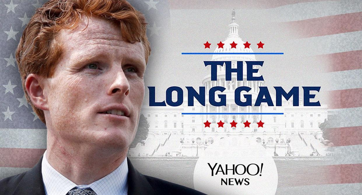 Rep. Joe Kennedy III (Photo illustration: Yahoo News; photos: AP)