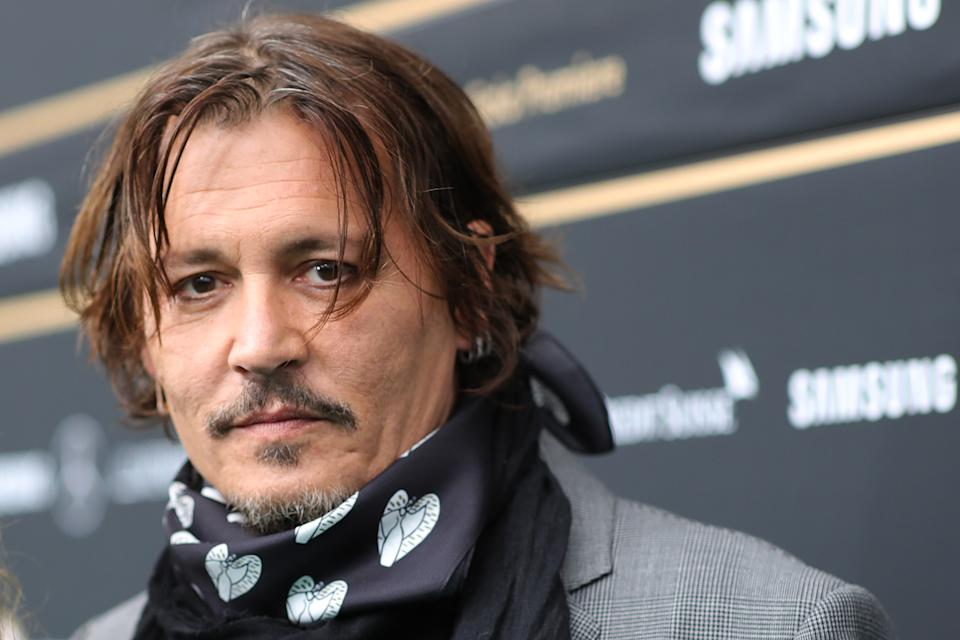 ZURICH, SWITZERLAND - OCTOBER 02: Johnny Depp attends the