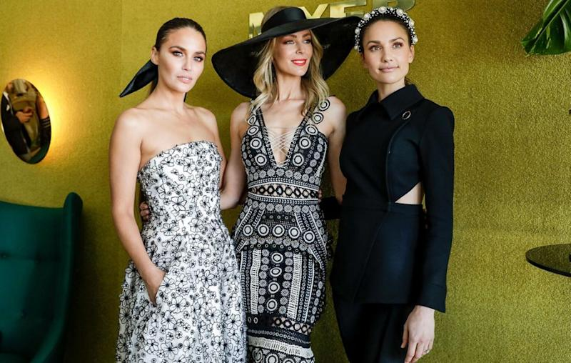 In recent years Jodi has been the face of Myer alongside Jennifer Hawkins and Rachael Finch, but now that the Neighbours actress is leaving, the question is, who will replace her? Source: Getty