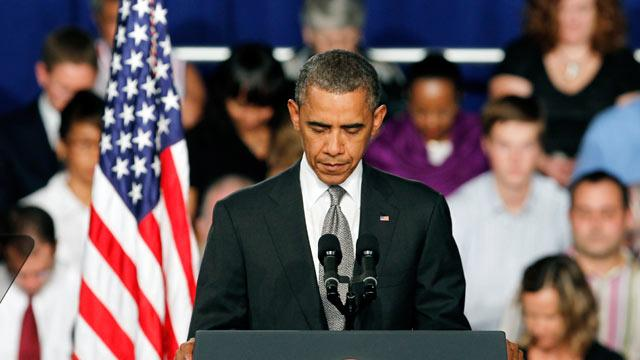 Obama Urges 'Time for Prayer' After Colo. Shooting