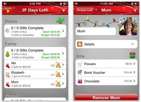 """<em>A smartphone app that organizes your gift list and keeps an eye on your budget</em> Ditch that coffee-stained list you scrawled out on the back of an envelope and take a page from the tech-savvy Santa playbook with the app <a href=""""https://itunes.apple.com/us/app/better-christmas-list/id295466005?mt=8"""">Better Christmas List</a>. Having this easy, intuitive, budget-conscious gift organizer in the palm of your hand is like having your own personal Elf. Just download it, take a few minutes to type in your gift list or simply link it to your address book, organize it by groups (family, friends, co-workers), and set a budget. It even has a password-protected option to make sure your tech savvy kids don't take a peek."""