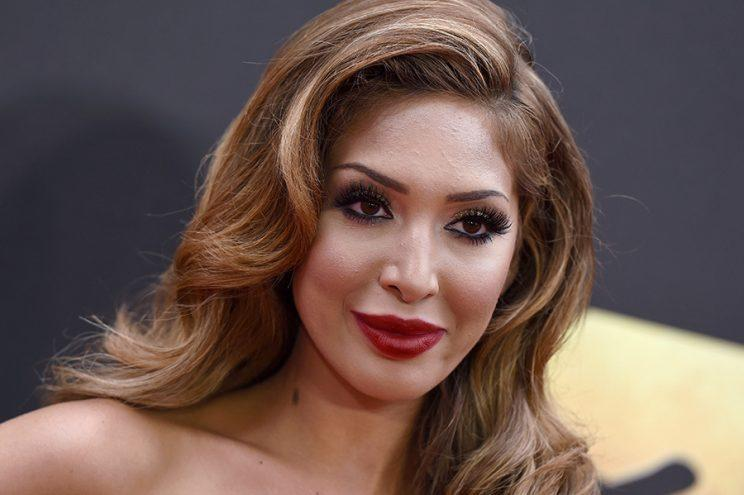Teen Mom OG star Farrah Abraham is in hot water once again for posting a photo of her 7-year-old daughter, Sophia, in a bikini. (Photo: Getty Images)
