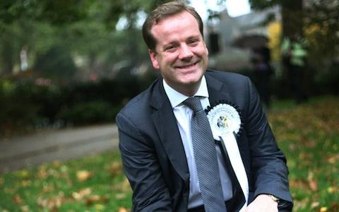 Charlie Elphicke Conservative MP for Dover and Deal - Credit:  Jordan Mansfield/Getty