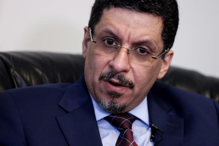 Yemeni Foreign Minister Ahmad Awad Bin Mubarak is urging European officials to hold Huthi rebels to account
