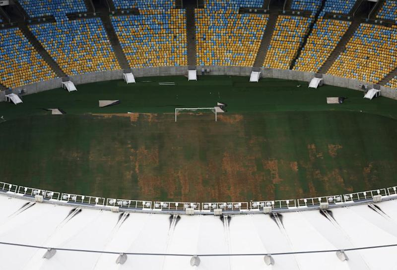 The Maracana fell into disrepair after hosting events at the 2014 World Cup and 2016 Olympics