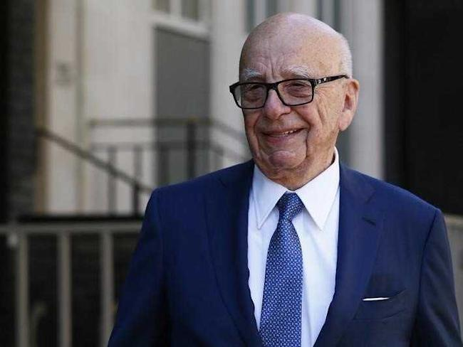 Media mogul Rupert Murdoch leaves his home in London, Britain March 4, 2016. REUTERS/Stefan Wermuth