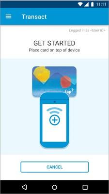Screenshot of Cubic Mobile for Merchants App for LA County's TAP Point of Sale Operating System