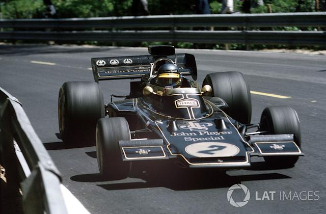 """Ronnie Peterson, Lotus 72 Ford <span class=""""copyright"""">LAT Images</span>"""