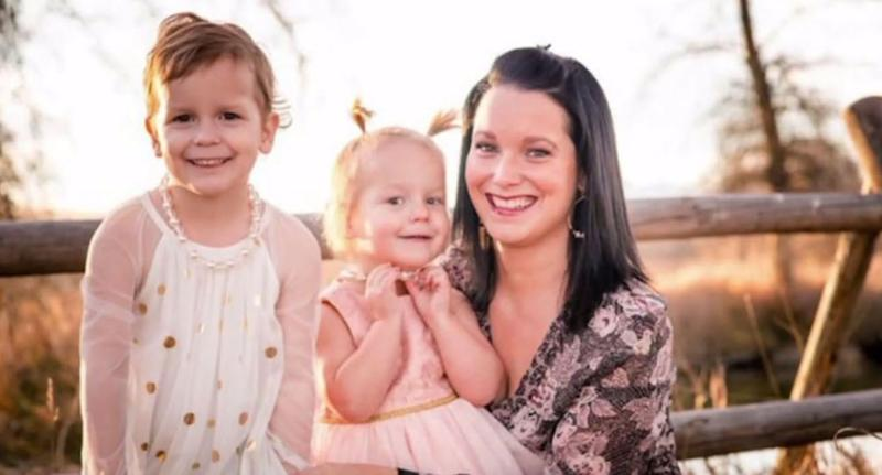 Shannan Watts, 34, and her daughters Bella and Celeste (pictured) were found dead on a property owned by Anadarko Petroleum Corp where her husband Christopher Watts formerly worked