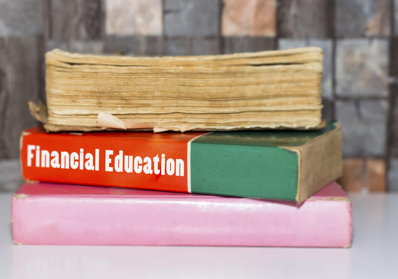 Book Title of Financial Education. (Getty Images)