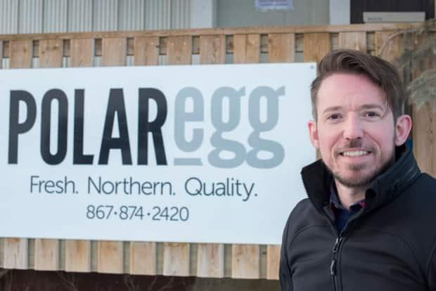 Kevin Wallington of Polar Egg, is the manager of business development with Choice North Foods in Hay River, and chairperson of the newly-formed territorial agri-food association.