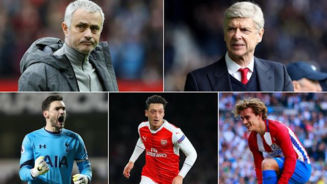 It could be a busy summer for these football stars and managers