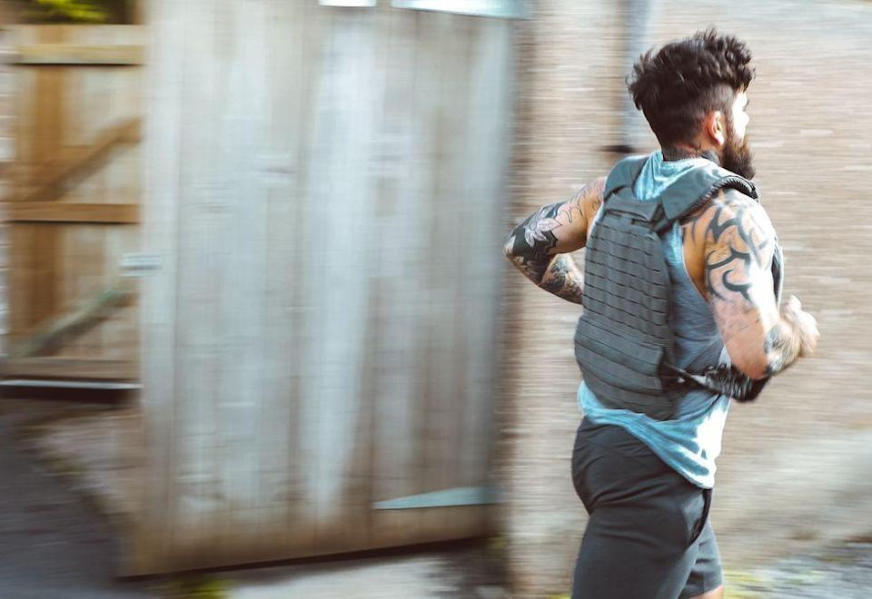 """<p><strong>You'll need: 400m of running space</strong></p><p>Named in honour of U.S. Marine Corporal Albert Gettings, who died aged 27 on 5th January 2009 while conducting counter-sniper operations in Fallujah, Iraq. There are no <a href=""""https://www.menshealth.com/uk/gym-wear/g33819895/best-home-barbells/"""" rel=""""nofollow noopener"""" target=""""_blank"""" data-ylk=""""slk:barbells"""" class=""""link rapid-noclick-resp"""">barbells</a>, dumbbells or even a pull-up bar in sight. Instead, you are going to be chipping away at huge sets of at bodyweight basics, with a 400m run after each completed set.""""This is a big lot of work and is as much about your mind as it is your fitness,"""" says <a href=""""https://www.instagram.com/scottbrits/"""" rel=""""nofollow noopener"""" target=""""_blank"""" data-ylk=""""slk:Scott Britton"""" class=""""link rapid-noclick-resp"""">Scott Britton</a>, co-founder of functional fitness movement <a href=""""https://www.instagram.com/battle.cancer/"""" rel=""""nofollow noopener"""" target=""""_blank"""" data-ylk=""""slk:Battle Cancer"""" class=""""link rapid-noclick-resp"""">Battle Cancer</a>. """"Break the bodyweight movements into manageable chunks so you don't hit a wall, then try and maintain the same splits on each of the runs.""""This is all about pacing yourself physically and testing yourself mentally. You are capable of so much more than you think, so keep going. You'll feel amazing afterwards!""""</p><p><br>For time:<br><br>Burpee x50 <br><strong>Run, 400m</strong><br>Push-Up x 100<br><strong>Run, 400m</strong><br>Walking Lunge x 150<br><strong>Run, 400m</strong><br>Air Squat x 200<br><strong>Run, 400m</strong><br>Walking Lunge x 150<br><strong>Run, 400m</strong><br>Push-Up x 100<br><strong>Run, 400m</strong><br>Burpees x 50</p>"""