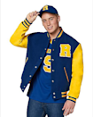 """<p><strong>Archie Comics</strong></p><p>spirithalloween.com</p><p><strong>$49.99</strong></p><p><a href=""""https://go.redirectingat.com?id=74968X1596630&url=https%3A%2F%2Fwww.spirithalloween.com%2Fproduct%2Friverdale-varsity-jacket-archie-comics%2F164125.uts&sref=https%3A%2F%2Fwww.cosmopolitan.com%2Fentertainment%2Ftv%2Fg35484395%2Fgift-ideas-for-riverdale-fans%2F"""" rel=""""nofollow noopener"""" target=""""_blank"""" data-ylk=""""slk:SHOP NOW"""" class=""""link rapid-noclick-resp"""">SHOP NOW</a></p><p>If you're more into the varsity jock vibe, this letterman jacket is perf. It also works if the person you're gifting it to has a name that starts with the letter R. Super cute! </p>"""