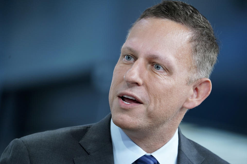 O bilionário Peter Thiel. (Foto: John Lamparski/Getty Images)