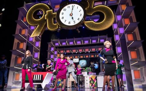 9 to 5 at the Savoy Theatre - Credit: Alastair Muir