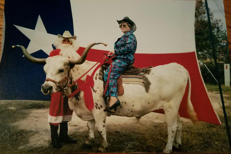 When Geneva Wood was a toddler, her family found her crawling in a pasture behind a cow, trying to get its attention. Her family said she was always tough and willing to put in the hard work. (Courtesy the family of Geneva Wood)