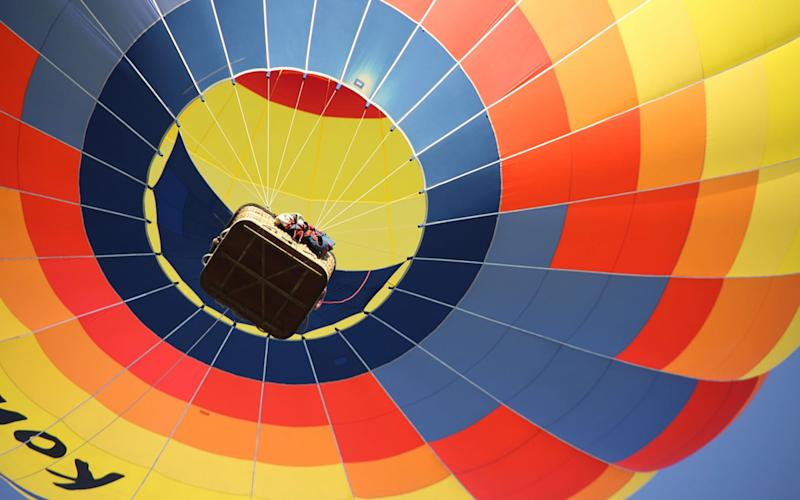 Ston Easton Park is taking its guests to the Somerset skies this summer with a new hot-air balloon experience.