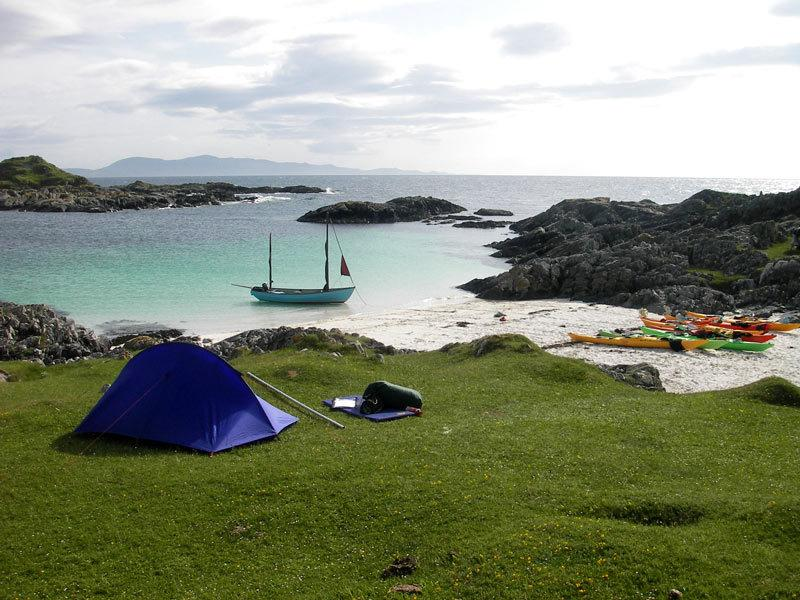 "<p>How about a spot of wilderness camping on some remote Scottish beaches? Eilean Shona is a tiny island in Loch Modiart on Scotland's west coast, with a population of just two. It's just one of the camp locations on <a href=""https://www.wildernessscotland.com/adventure-holidays/sea-kayaking/sound-arisaig/"">Wilderness Scotland's Sound of Arisaig</a> sea kayaking trip, in which you paddle around Scotland's west coast by day and camp on its beaches by night. Others include Peanmeanach and South Morar. The five night trip costs from £725pp (full board) based on two sharing.</p>"