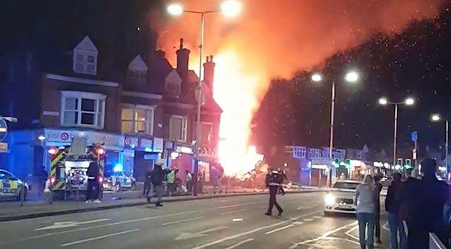 Leicester Explosion: Three Men Arrested On Manslaughter Charges