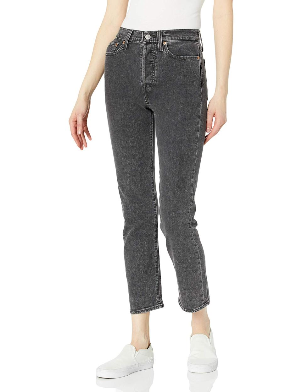 """<h2>40% Off Levi's Wedgie Straight Jeans</h2><br>Levi's legendary dungarees are about as close to <em>The Sisterhood of the Traveling Pants</em> as we'll ever really get — their butt-flattering powers seem to know no limits (but we do recommend getting your own size).<br><br><em>Shop Levi's at <strong><a href=""""https://amzn.to/2TOQvJM"""" rel=""""nofollow noopener"""" target=""""_blank"""" data-ylk=""""slk:Amazon"""" class=""""link rapid-noclick-resp"""">Amazon</a></strong></em><br><br><strong>Levi's</strong> Levi's Women's Wedgie Straight Jeans, $, available at <a href=""""https://amzn.to/3d1sgPg"""" rel=""""nofollow noopener"""" target=""""_blank"""" data-ylk=""""slk:Amazon"""" class=""""link rapid-noclick-resp"""">Amazon</a>"""