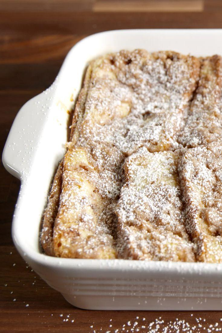 """<p>Cinnamon can improve motor function and packs a punch of antioxidants, so you don't have to feel guilty about indulging in a slice of this sweet breakfast bake.</p><p>Get the recipe from <a href=""""https://www.delish.com/cooking/recipe-ideas/recipes/a48348/cinnamon-swirl-french-toast-bake-recipe/"""" rel=""""nofollow noopener"""" target=""""_blank"""" data-ylk=""""slk:Delish"""" class=""""link rapid-noclick-resp"""">Delish</a>.<br></p>"""