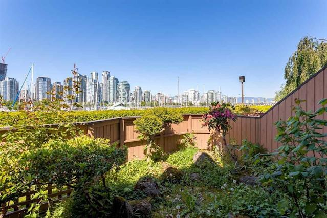 "<p><a href=""https://www.zoocasa.com/vancouver-bc-real-estate/5323035-1038-ironwork-passage-vancouver-bc-v6h3p1-r2271566"" rel=""nofollow noopener"" target=""_blank"" data-ylk=""slk:1038 Ironwork Passage, Vancouver, B.C."" class=""link rapid-noclick-resp"">1038 Ironwork Passage, Vancouver, B.C.</a><br> The home has a private garden, and lush landscaping.<br> (Photo: Zoocasa) </p>"