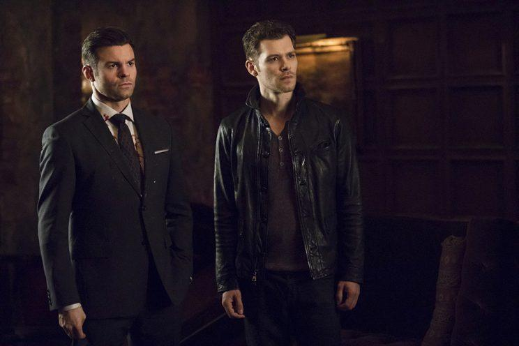 Daniel Gillies as Elijah and Joseph Morgan as Klaus in The CW's The Originals. (Photo Credit: Bob Mahoney/The CW)