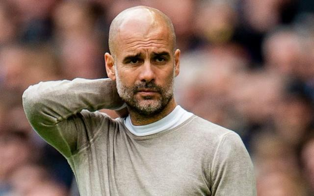 Pep Guardiola's side are already eight points adrift of Premier League leaders Liverpool - REX