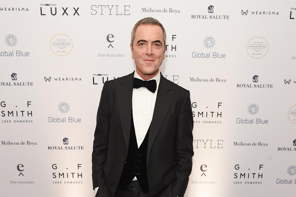 LONDON, ENGLAND - NOVEMBER 18:   James Nesbitt attends the Walpole British Luxury Awards 2019 at The Dorchester on November 18, 2019 in London, England.  (Photo by David M. Benett/Dave Benett/Getty Images for Walpole)