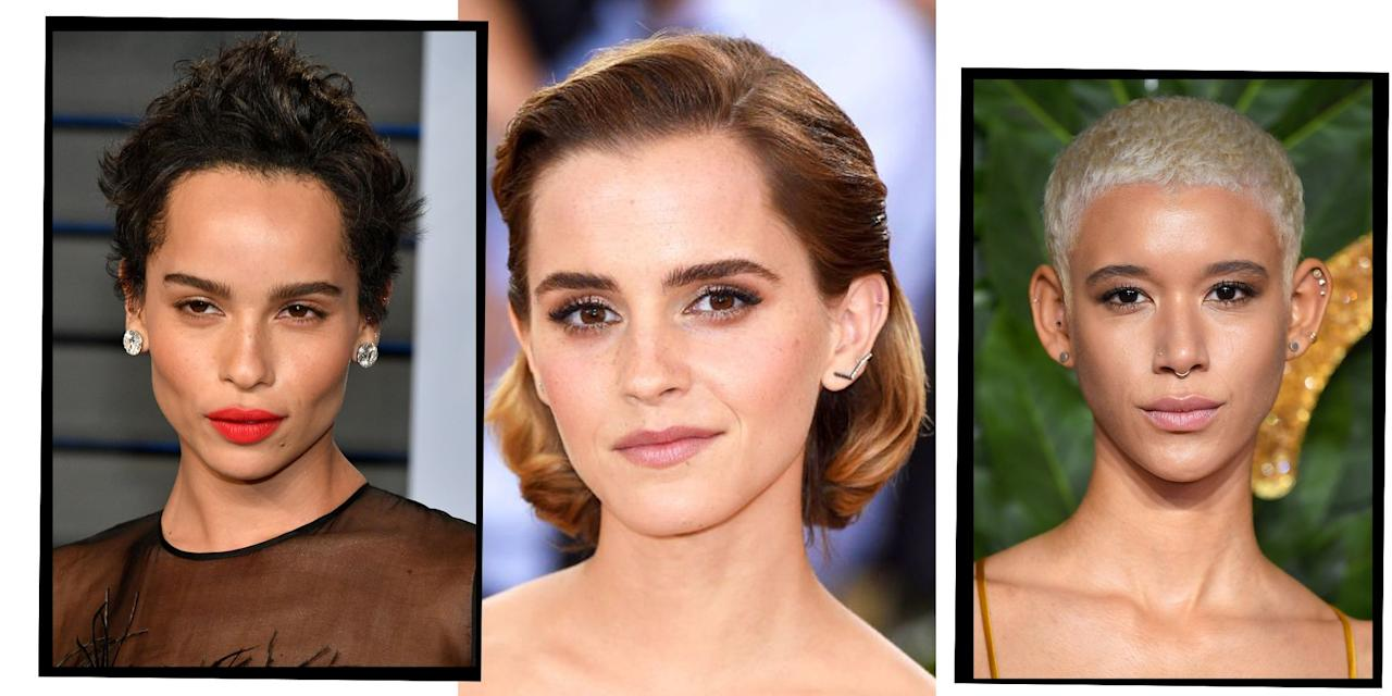 "<p>The time when waist-length hair was the go-to hairdo for passing as a super hot A-lister is officially over. These days if you want to stand out on the red carpet and stay in the in-crowd, it's all about short hairstyles. </p><p>Between Scarlett Johansson's badass pixie crop, Alexa Chung's lust-worthy bob and <a href=""https://www.elle.com/uk/beauty/hair/articles/g31115/celebrity-lobs-mid-length-hairstyle-inspiration-from-the-girls-getting-it-right/"" target=""_blank"">lobs</a> all over the place, short hair styles are the 'do du jour.</p><p>Check out our edit of the best celeb short hair styles for all the Pinterest board inspo you could ever need. </p>"