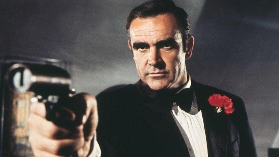 <p> While not a poor movie, Diamonds Are Forever has one of the weakest core plots. Eventually, we discover that Blofeld himself is using smuggled diamonds to construct a satellite that can act as a giant laser, hovering above the earth, allowing Blofeld to hold the world to ransom. But the film meanders for far too long before showing its hand. Sure, the opener with all the Blofeld clones is great, there are some neat set-pieces, and Mr Kidd and Mr Wint - two assassins sent to murder Bond - are wonderfully sinister villains. They even try to kill Bond using kebab skewers, which is a deliciously OTT highlight, after attempting to burn him alive inside a coffin. But there's just a sense of cohesion and purpose missing from the movie, and that spoils an otherwise decent spy romp. There are some moments of Bond silliness - like a love interest called Plenty O'Toole (COME ON, REALLY?) - and the grand finale aboard an oil rig isn't quite as satisfying as many other endings in the franchise. Overall, a middling 007 outing, but that's kinda why it's mid-feature right here. Fun fact: this movie saw the return of Sean Connery as Bond, after he refused the role in On Her Majesty's Secret Service, where he was replaced by George Lazenby. </p> <p> <strong>Bond:</strong> Sean Connery<br> <strong>Theme tune:</strong> Diamonds Are Forever by Shirley Bassey </p>