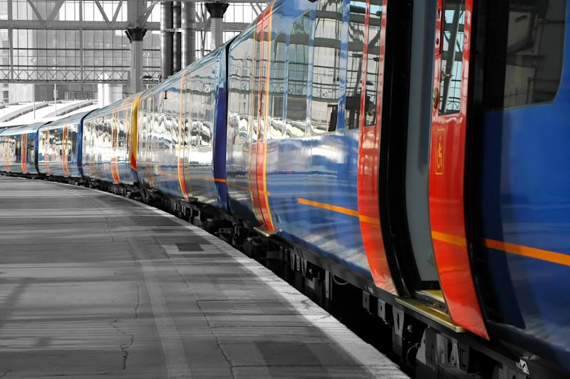 Nationally, just 86 per cent of trains ran on time in the year to end of September: iStock