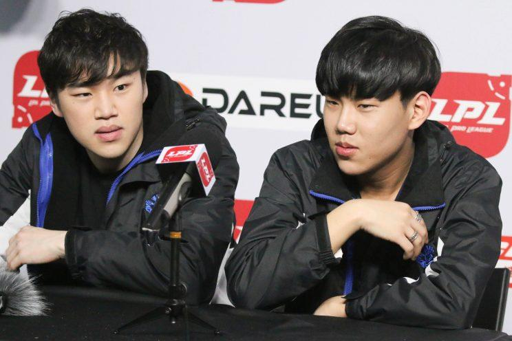Coco and Swift, Newbee Gaming's mid lane and jungle duo (Dionne Ng)