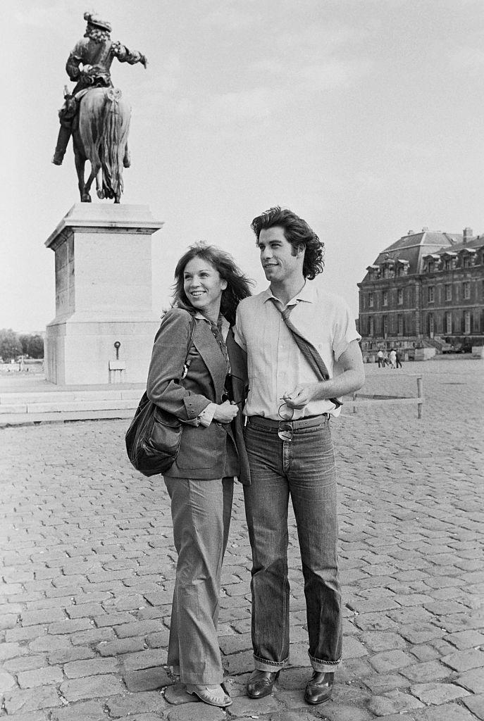 <p>John Travolta at the castle of Versailles with girlfriend Marilu Henner.<br></p><p>Other celebrity visitors this year: Marisa Berenson.</p>