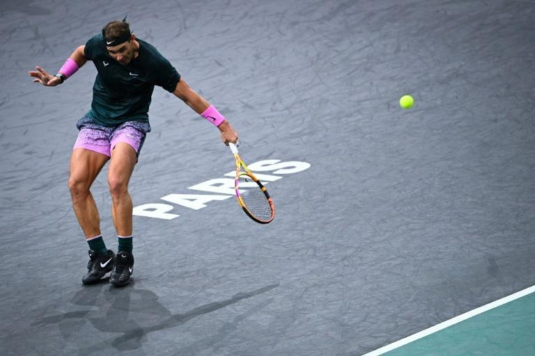 Nadal has never won the Paris Masters or the Tour Finals