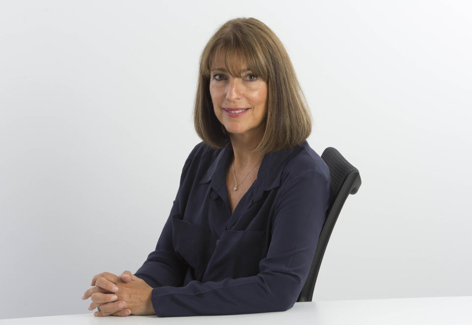 Undated handout photo issued by Easyjet of their Chief Executive Carolyn McCall. PRESS ASSOCIATION Photo. Issue date: Tuesday January 5, 2016. Photo credit should read: Easyjet/PA Wire NOTE TO EDITORS: This handout photo may only be used in for editorial reporting purposes for the contemporaneous illustration of events, things or the people in the image or facts mentioned in the caption. Reuse of the picture may require further permission from the copyright holder. issued by Flybe of their logo. PRESS ASSOCIATION Photo. Issue date: Tuesday January 5, 2016. Photo credit should read: Easyjet/PA Wire