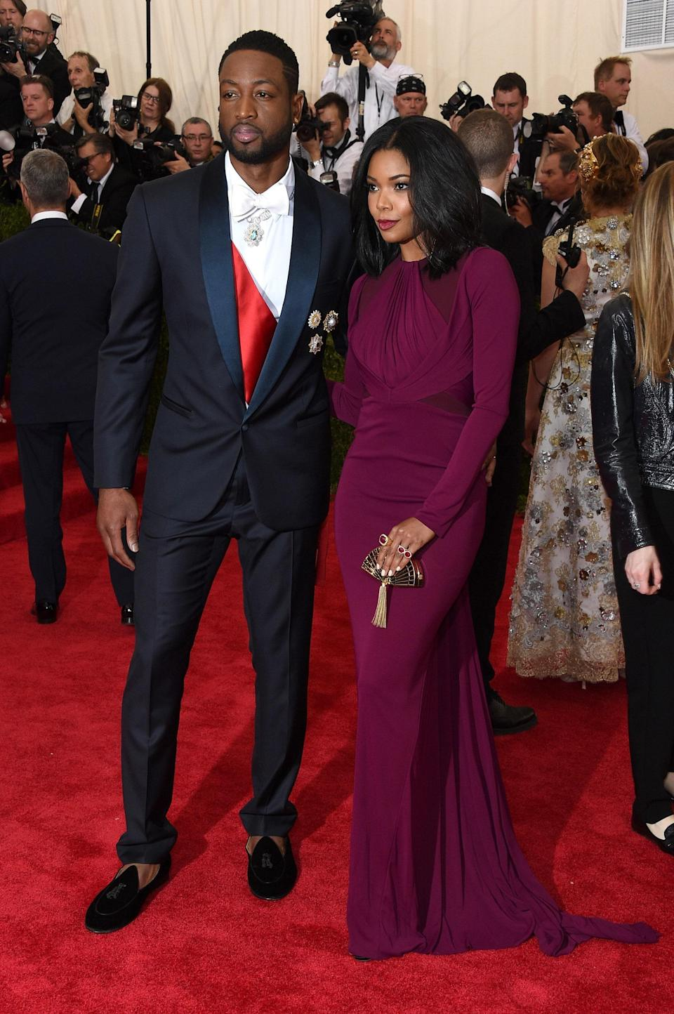 Dwyane Wade and Gabrielle Union<br> 2015