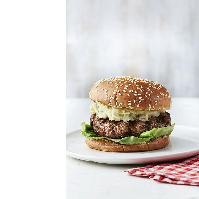 """<p>With a little bit of paprika, garlic, pepper, and salt, you'll be able to make probably one of the best meals your guests have ever had.</p><p><a href=""""https://www.womansday.com/food-recipes/recipes/a50527/texas-brisket-burger-recipe-wdy0615/"""" rel=""""nofollow noopener"""" target=""""_blank"""" data-ylk=""""slk:Get the Texas Brisket Burger recipe."""" class=""""link rapid-noclick-resp""""><em>Get the Texas Brisket Burger recipe.</em></a></p>"""