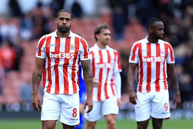 <p><strong>Stoke City:</strong><br><br><strong>Ins:</strong> Moriitz Bauer (Rubin Kazan, undisc), Kostas Stafylidis (Augsburg loan)<br><br><strong>Outs:</strong> None (linked away Glen Johnson) </p>