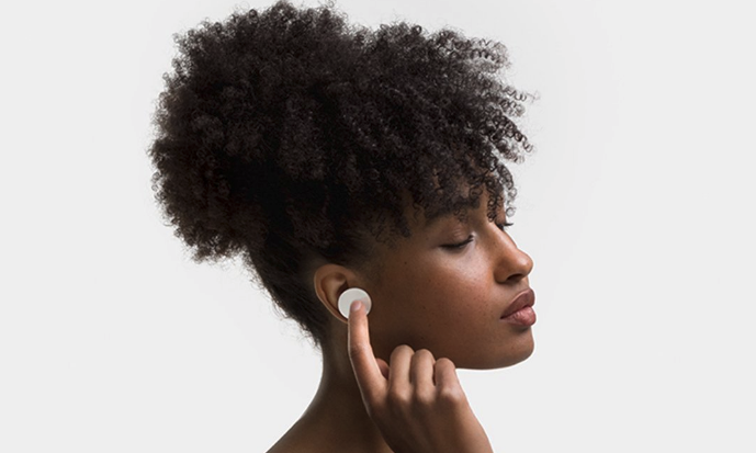 Yes, Microsoft's first-ever earbuds are really this big