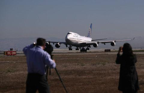 United retired its last 747 last month - Credit: Getty