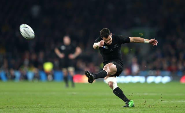 Dan Carter helped New Zealand win the 2011 and 2015 World Cups