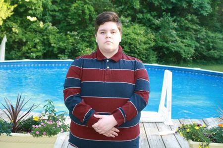 Student Gavin Grimm, who was barred from using the boys' bathroom at his local high school in Gloucester County, Virginia, U.S. is seen in an undated photo. Grimm was born a female but identifies as a male.  Crystal Cooper/ACLU of Virgina/Handout via REUTERS