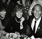 <p>Nightclub hotspot Regine played host to a Valentine's Day party, and attracted Joan Collins and Stefanie Powers among others. </p>