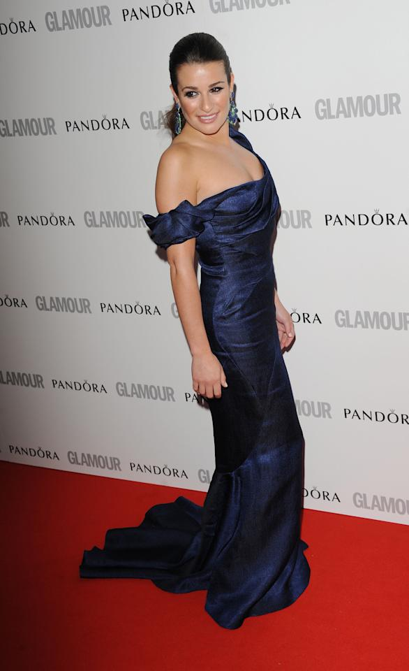 LONDON, UNITED KINGDOM - MAY 29: Lea Michelle attends Glamour Women of the Year Awards 2012 at Berkeley Square Gardens on May 29, 2012 in London, England. (Photo by Stuart Wilson/Getty Images)