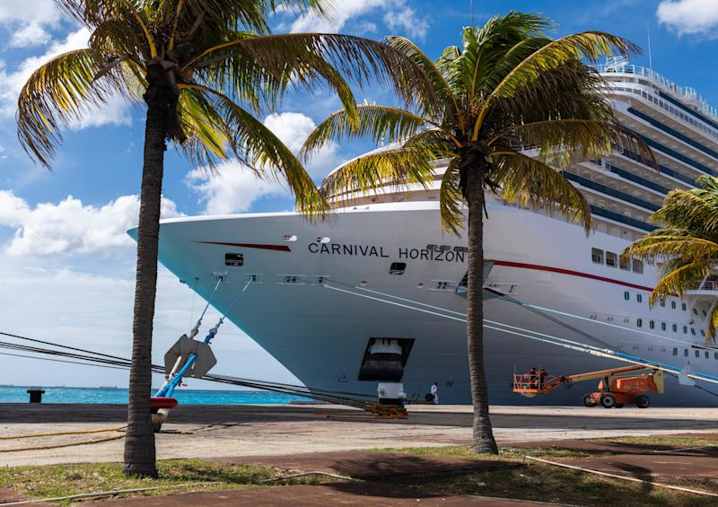 IN dad plunges four stories to his death aboard Carnival cruise ship